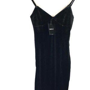 🌺3/$15🌺NWT For 21 Short Black Stretch Dress.